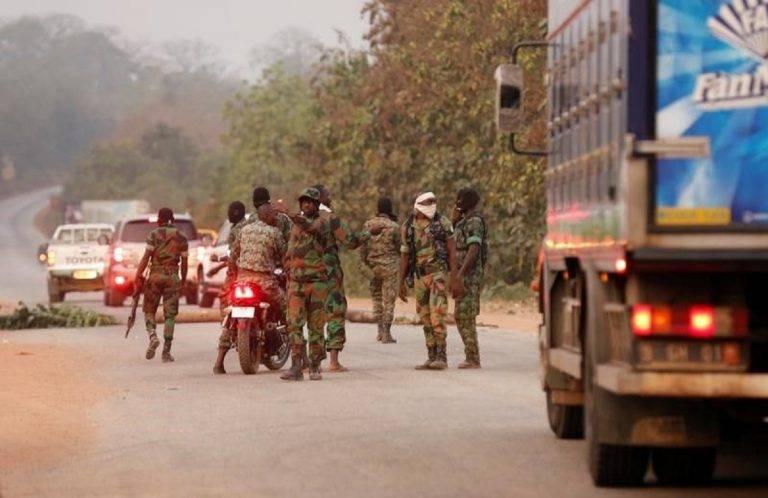 Бунт военнослужащих в Кот-д'Ивуаре
