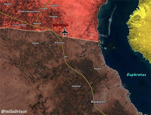 Сирийская армия освободила от игиловцев авиабазу Джирах