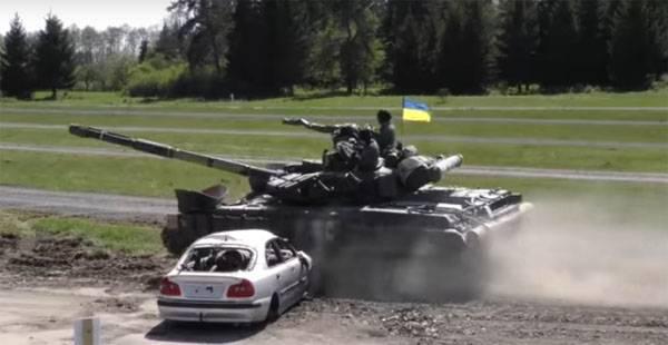 "Украинский Т-64 ""порвал"" легковушку. Итоги танкового биатлона НАТО"