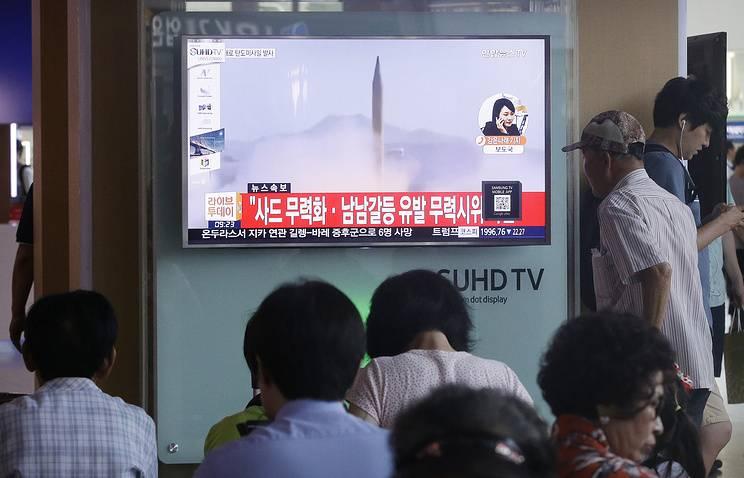 Токио: северокорейская ракета пролетела 800 км