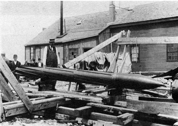 Реактивная торпеда П. Каннингема (США)