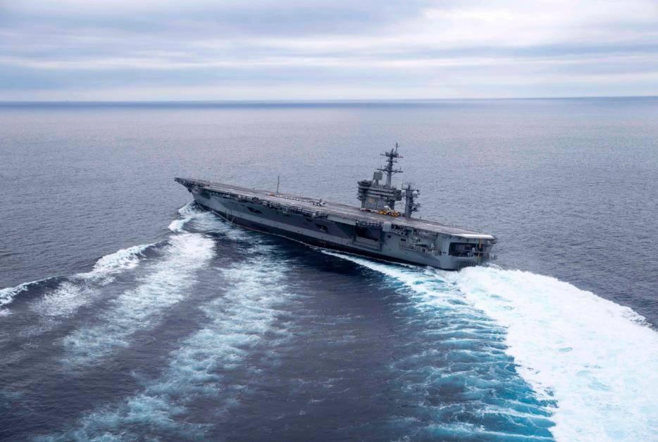 Поломка авианосца Ronald Reagen срывает секретную миссию ВМС США вЯпонском море