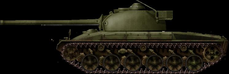 Первый танк Швейцарии -  Panzer 58