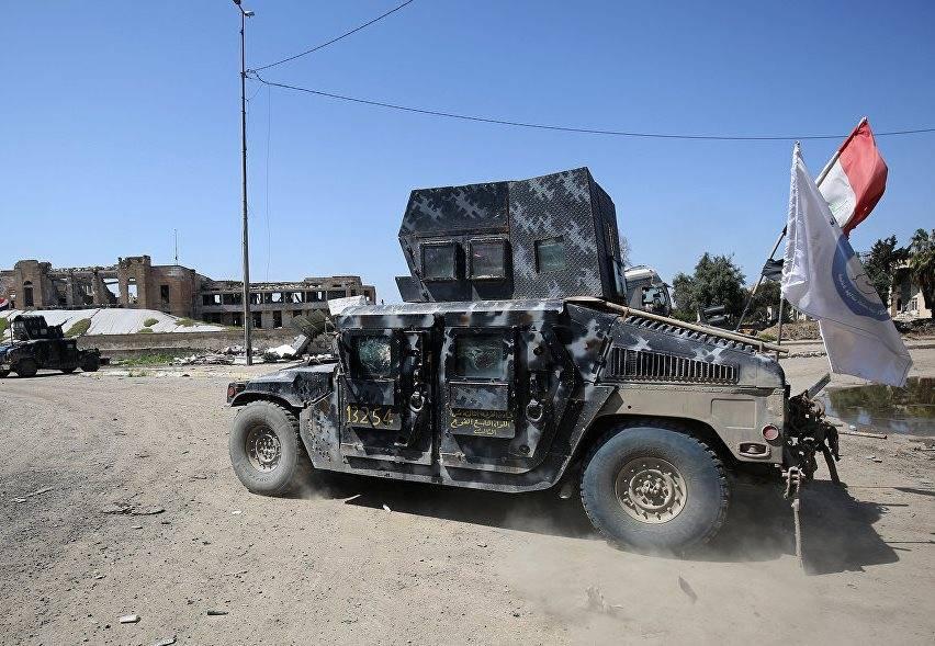 Возглавляемая США коалиция сообщила ополном окруженииИГ вМосуле
