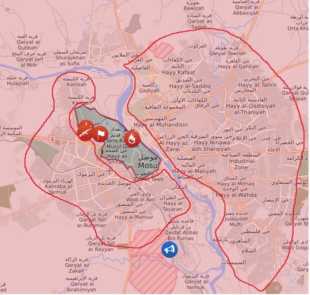Международная коалиция разгромила террористов ИГИЛ виракском Мосуле