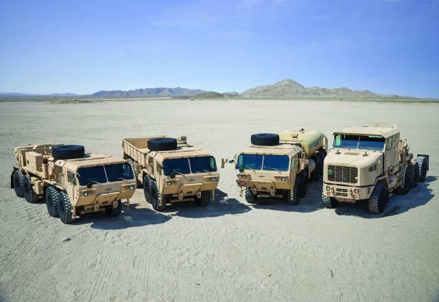 Армия США обновляет парк грузовиков