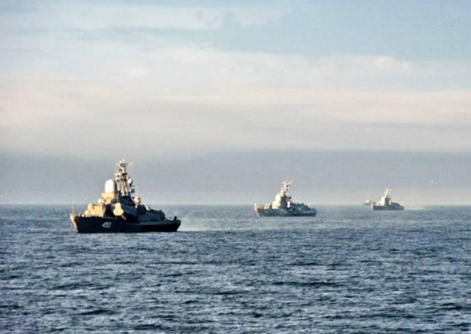 Корабли ТОФ выполнили противолодочные стрельбы