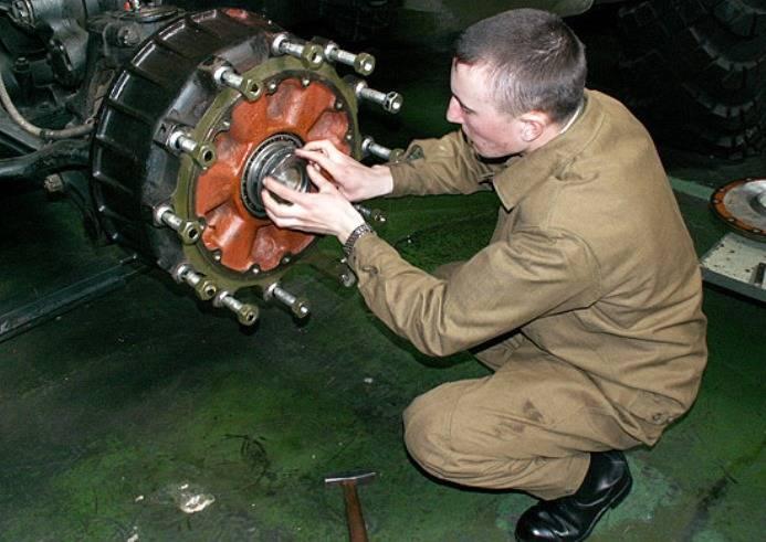 Вооружение и техника ЮВО переведены на летний режим эксплуатации