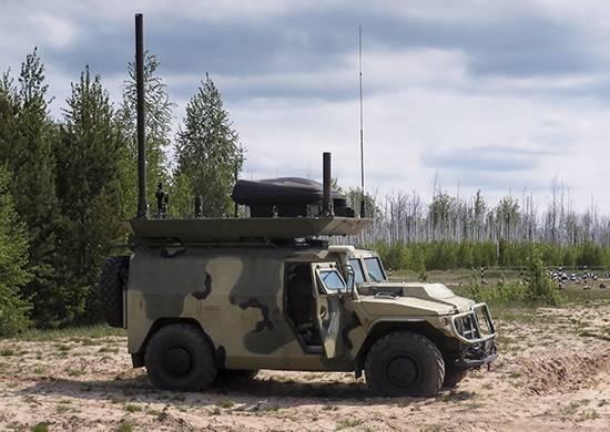 В подразделения РЭБ российской военной базы в Абхазии поступили мобильные комплексы «Леер-2»