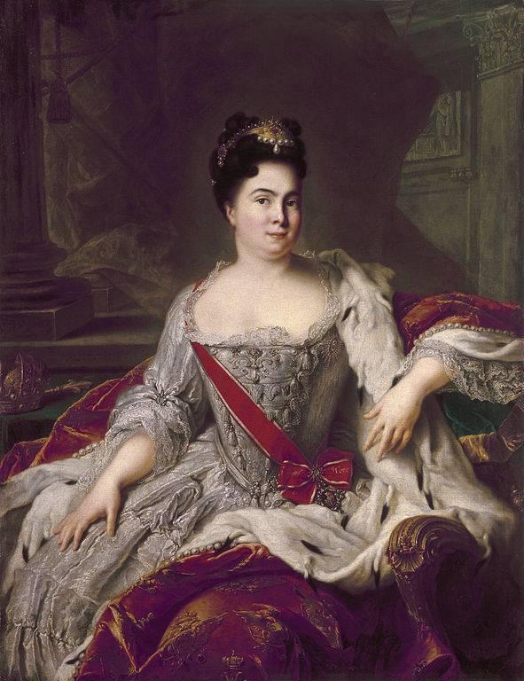 """portomoya""如何成为俄罗斯女皇"