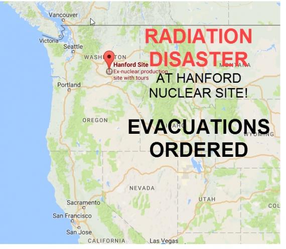 Es gibt keine erhöhte Strahlung im Bundesstaat Washington