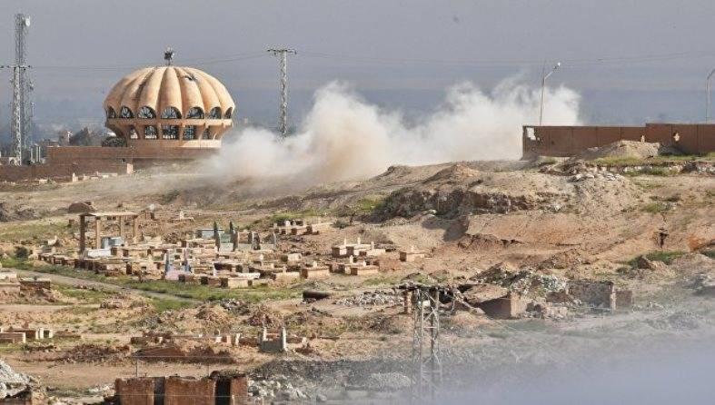 США отрицают причастность коалиции к ударам по провинции Дейр-эз-Зор