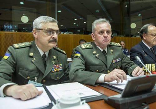 """Муженко: ЕС и НАТО предложили  нестандартные подходы к противодействию """"российской агрессии"""""""