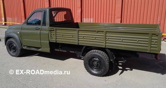 """В сети появились фото армейской версии """"УАЗа"""""""