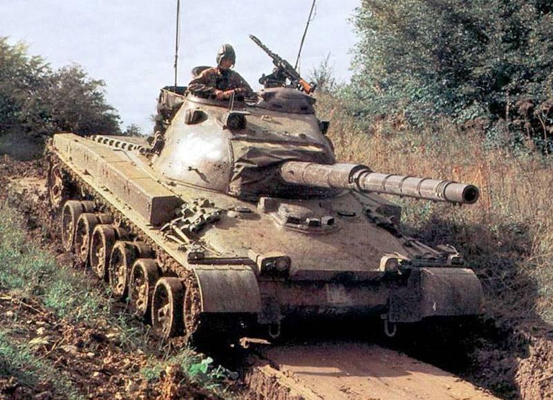 Средний танк Panzer 68 (Швейцария)
