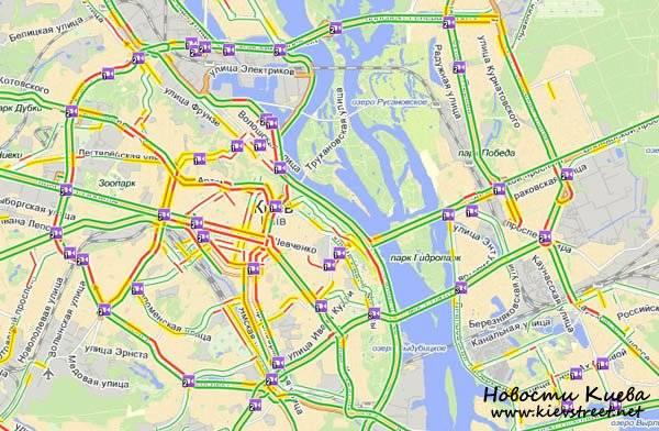 Consiglio di sicurezza nazionale e di difesa dell'Ucraina: l'esercito russo può avanzare su Yandex.Maps usando Yandex.Traffic