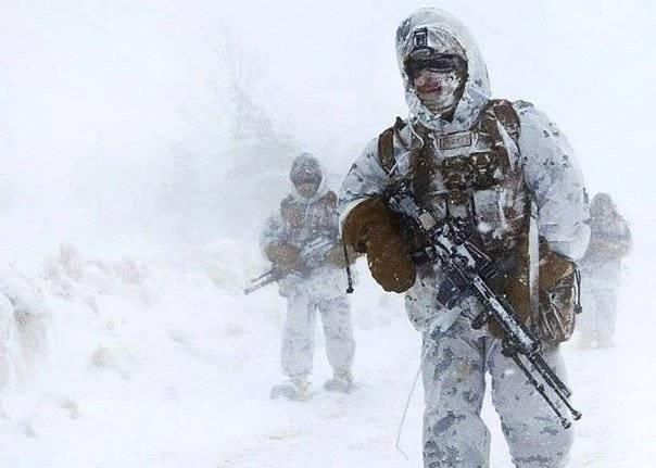Американские морпехи замерзли у границ России