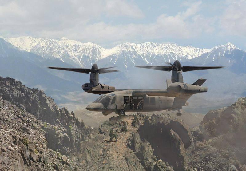 В США представлены проекты на замену UH-60 Black Hawk и AH-64 Apache