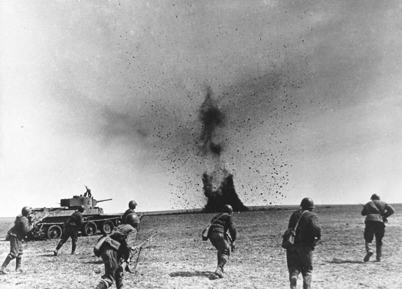 """""""El espíritu de optimismo ... vital en el puesto de mando del frente"""". Kharkov desastre del Ejército Rojo"""