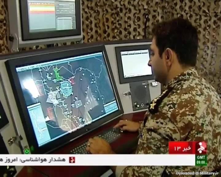 이란의 방공 미사일 방어 (일부 2)