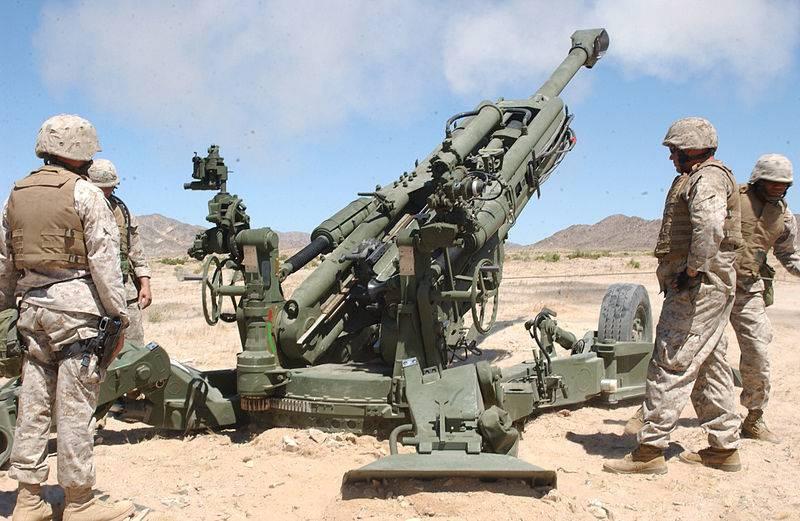 Индийская армия получила первую партию буксируемых гаубиц M777