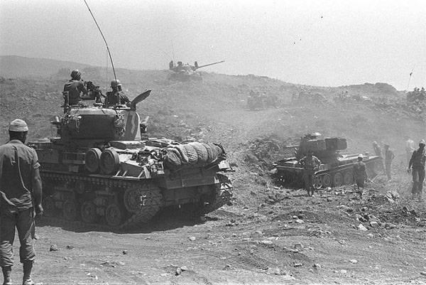 Израиль публикует тысячи документов эпохи Шестидневной войны