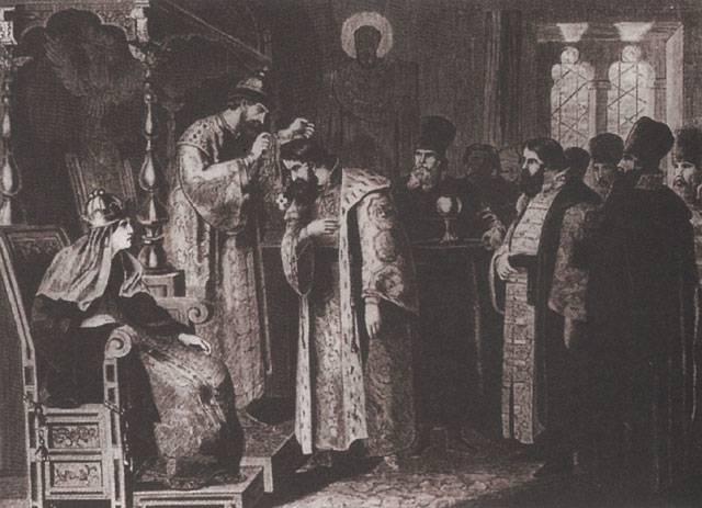 Основы Смуты были заложены в царствование Фёдора Блаженного