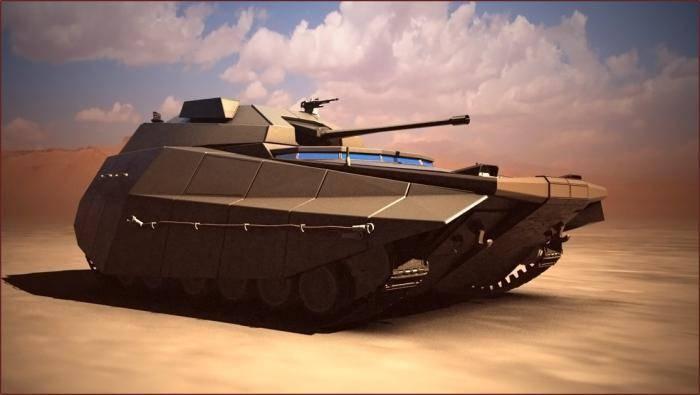 "Israel introdujo el combate ""coche del futuro""."