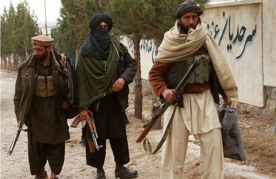 ВАфганистане боевики «Талибана