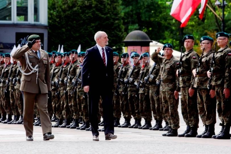 ВПольше приняли присягу первые участники войск территориальной обороны