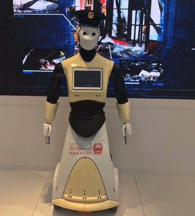 1-ый робот-полицейский поступил наслужбу вДубае