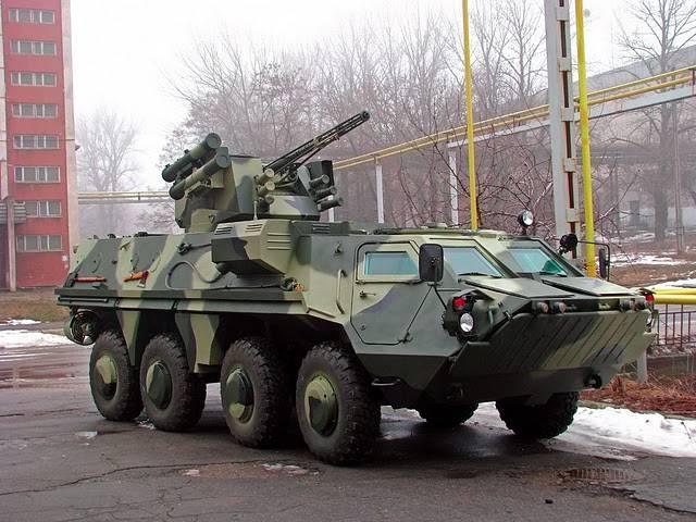 В Ираке смогли тронуться с места только 34 из 88 поставленных Украиной бронетранспортеров