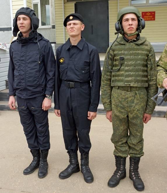 Комбинезонам танкистов вернули чёрный цвет