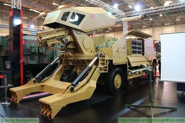 Самоходная артиллерийская установка AFGM / Aselsan KMO (Турция)