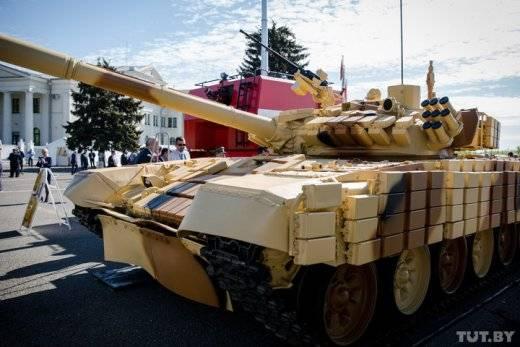 Новейший вариант T-72БМЭ