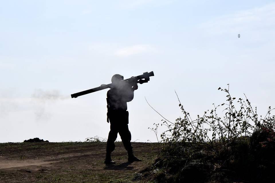 Украинские воины оттеснили врага накилометр