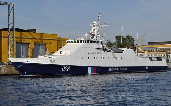 रूस की संघीय सुरक्षा सेवा की सीमा सेवा के लिए तीन जहाज