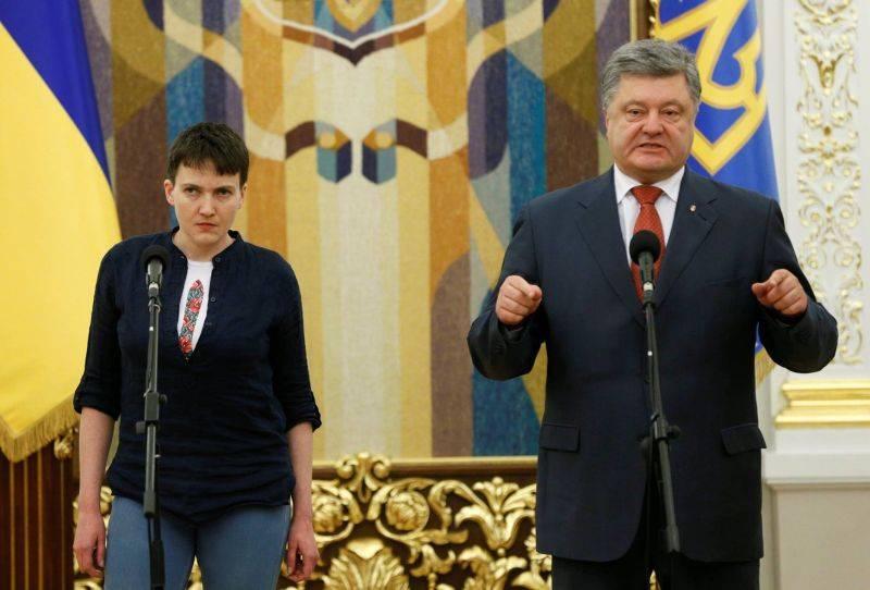 Савченко: Готова демонтировать нездоровую политическую систему Украины