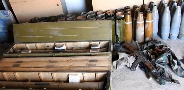 Игиловцы в ходе атаки захватили большое количество боеприпасов у войск САР
