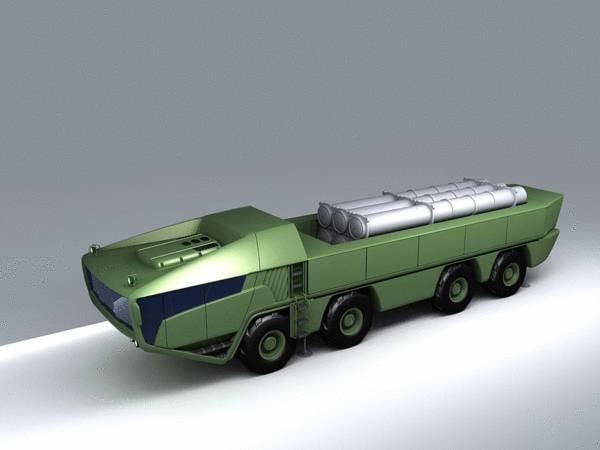 Проект перспективного зенитного ракетного комплекса от ОКБ «ТСП» (Беларусь)