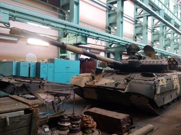 ВХарькове восстановили для ВСУ 50 танков «Булат»