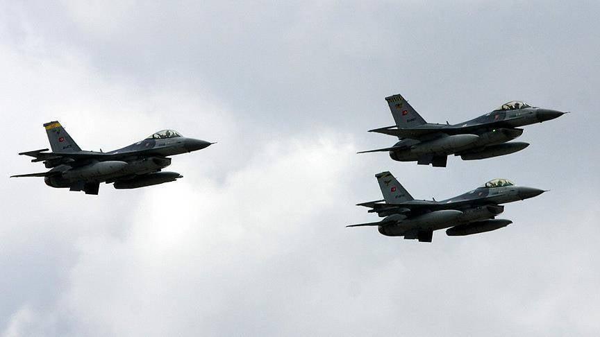 Турецкие F-16 уничтожили террористов ПКК