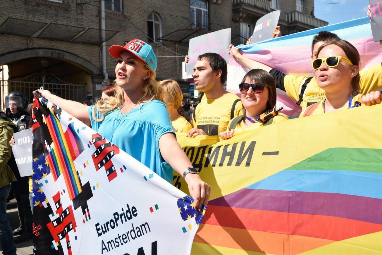 ЛГБТ— марш вКиеве будут охранять шесть тыс. правоохранителей