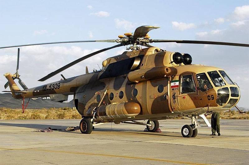 В Иране будут собирать российские вертолёты