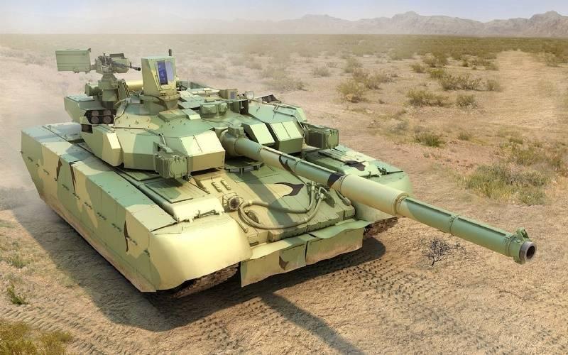«Укроборонпром» представил украинский танк «Оплот»