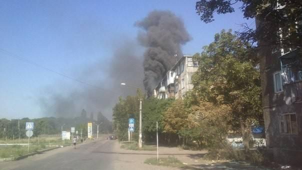 На Донбассе артобстрелу подверглась Красногоровка