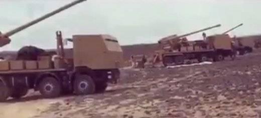 Колесные САУ в рядах сирийской армии