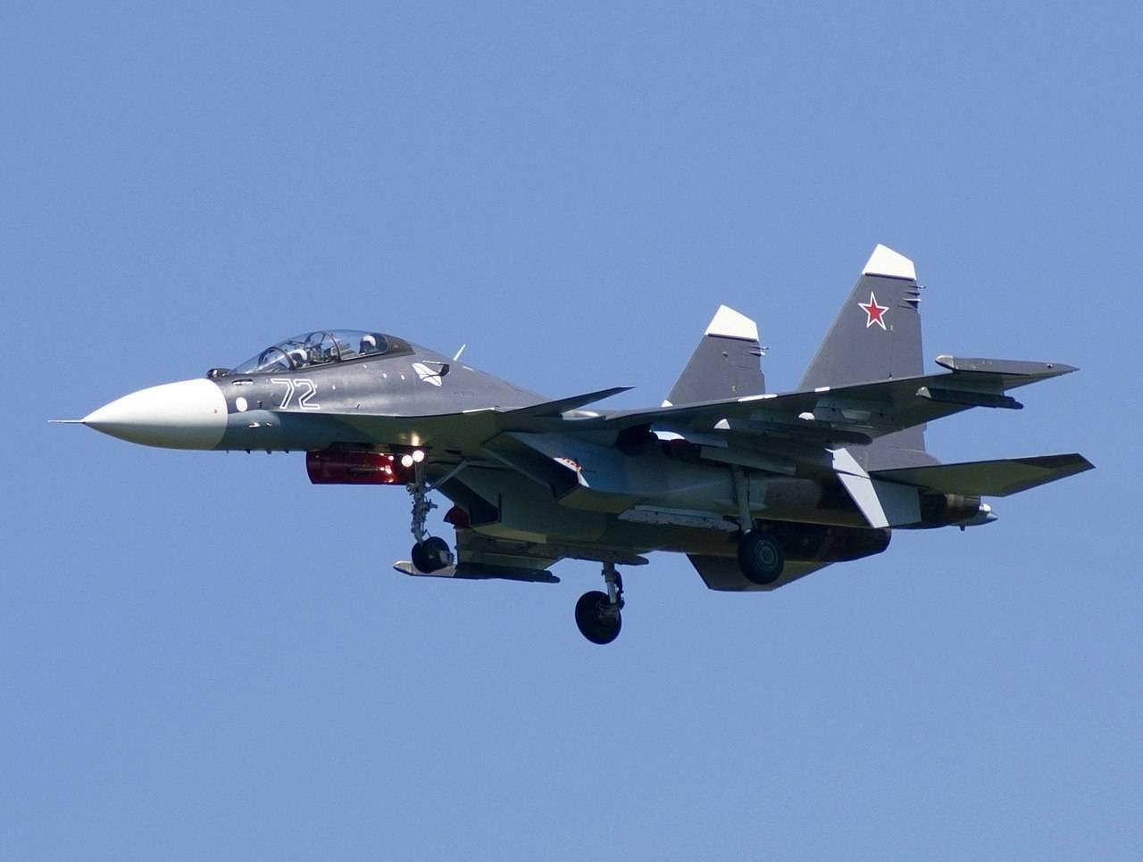 Два новейших истребителя СУ-30 СМприбыли наБалтийский флот
