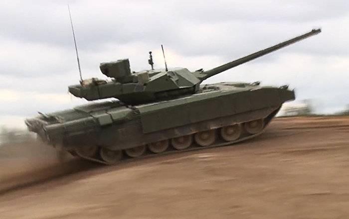 Британский эксперт: вооружения НАТО малоэффективны против «Арматы»