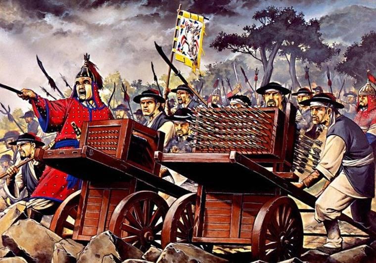 Хвачха — первая массовая система залпового огня Средневековья